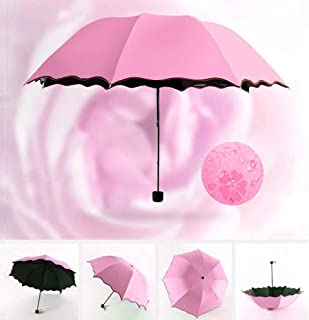 Travel Parasol Folding Rain Windproof Umbrella Folding Anti UV Sun/Rain Umbrella Female Gift Girls Anti UV Waterproof Portable