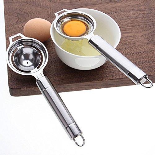 Youliy Yolk Séparateur blanc Séparateur Séparateur en acier inoxydable Ustensile de cuisine
