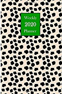 2020 Weekly Planner: Preppy Abstract Planner 6 x 9 inch 150 Pages Year Months Weeks Calendar, Schedule, and Organizer plus Dot Grid Pages (January 2020 - December 2020) (Preppy Abstract Planners)