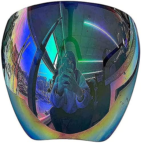 wgkgh Gafas de sol polarizadas de cara completa, lentes de sol polarizadas con filtro de luz azul, visera ligera, para hombres y mujeres