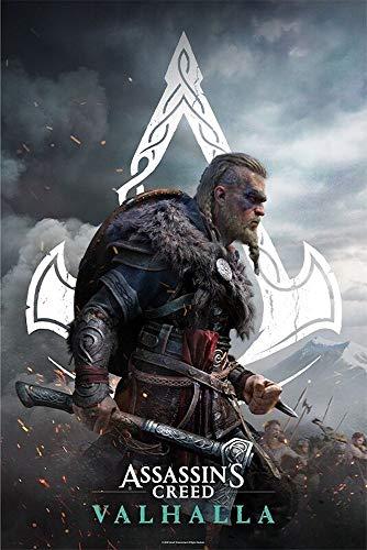 Assassin's Creed - Valhalla Eivor - Poster | 61 x 91,5 cm | Originales Merchandise