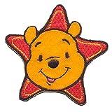 Disney Winnie the Pooh Star Iron-On Decorative Patch 6 x 6 cm