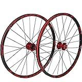 Ruedas delanteras traseras para bicicletas 26 pulgadas 27,5 pulgadas bicicleta de montaña, juego de MTB bicicleta 7 rodamientos de bolas tambor de freno de disco de aleación 8 9 10 11 engranaje