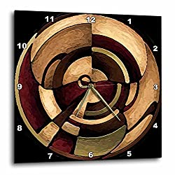 3dRose DPP_4050_3 Digital Artwork Design Wall Clock, 15 by 15-Inch
