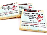Reverend Willy's Mexican Lottery Brand Guitar Strings Electric 3 Sets 07-38