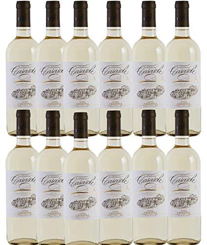 Vino Bianco Amabile dell' Umbria - 12 x 0,750 l. - CASASOLE ORVIETO CLASSICO DOC AMABILE - Santa cristina- Tenute Marchesi Antinori