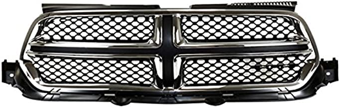 Koolzap For 11-13 Durango Front Grill Grille Assembly Chrome Shell w/Black Insert 55079364AJ