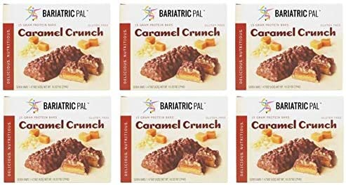 Denver Mall Max 86% OFF BariatricPal High Protein Bars - Crunch Caramel 6-Pack