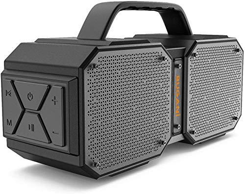 Bluetooth Lautsprecher, Tragbarer Wasserdichter Bluetooth 5.0 Lautsprecher für Draußen. Qualitätsgeprüft. 40W+ Drahtlose Stereoübertragung.Hervorragender Bass Musikbox.Eingebautes Mikrofon,32x17x11cm…