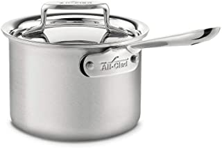 All-Clad BD55201.5 Brushed d5 Stainless Steel 5-Ply Bonded Dishwasher Safe Sauce Pan / Cookware, 1.5-Quart, Silver 2-quart...