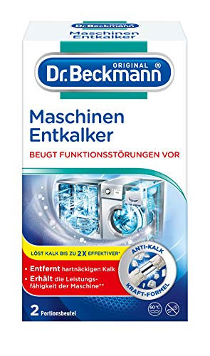 Dr. Beckmann Maschinen Entkalker, Gegen hatnäckigen Kalk, Hilft Funktionsstörungen vorzubeugen, (100g)