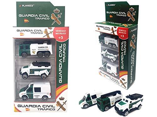 PLAYJOCS GT-8043 Set de vehículos de la Guardia Civil