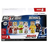 3DIT Character Creator City Heroes Deluxe Refill Pack Novelty Toy