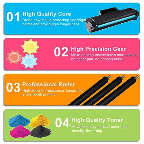 (1-Pack, Black) 4Benefit Compatible YK1PM Toner Cartridge 331-7335 (HF44N HF442) B1160 Used for Dell B1160 B1160w B1163w B1165nfw Laser Printers Photo #9