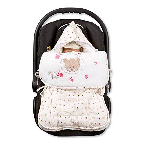 Babybettset Schlafsack Fußsack Krabbeldecke Bett-Tasche Lätzchen Wickelauflage, Typ:Fußsack