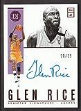 2018-19 Panini Encased Basketball Scripted Signature AUTO Red #SC-GRC Glen Rice 20/25