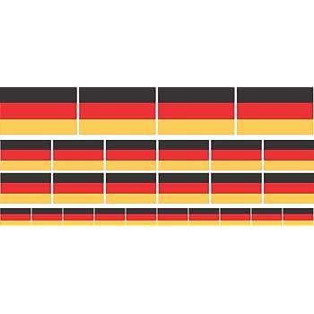 Vosarea Deutschland Flagge Automotive Aufkleber Aufkleber Magnete 3d Metall Emblem Autoscooter Aufkleber Auto Dekoration Sport Freizeit