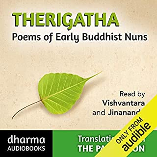 Therigatha audiobook cover art