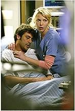 Grey's Anatomy Katherine Heigl Holding Jeffrey Dean Morgan While he has his Eyes Closed 8 x 10 Photo