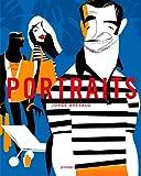Portraits: Les stars de Jorge Arévalo (Graphisme-Ilustration-Communication-Design) (French Edition)