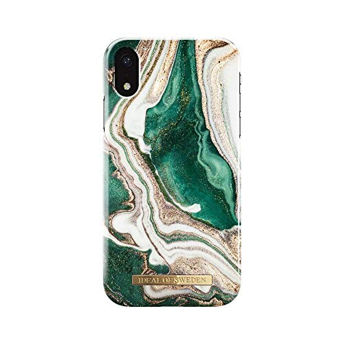 Preisvergleich Produktbild iDeal of Sweden Golden Jade Marble Fashion Back Case kompatibel mit iPhone Xr