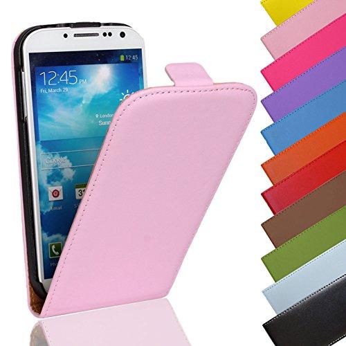 Eximmobile - Flip Hülle Handytasche für Huawei Ascend P6 in Rosa   Kunstledertasche Huawei Ascend P6 Handyhülle   Schutzhülle aus Kunstleder   Cover Tasche   Etui Hülle in Kunstleder