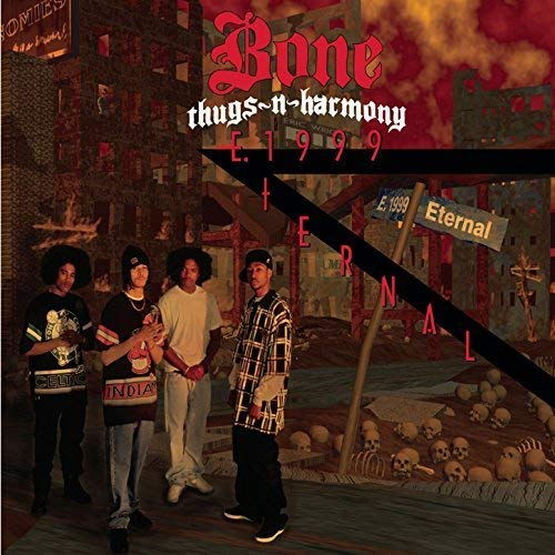 (CD Album BONE THUGS-N-HARMONY, 17 Titel) Bone Thugs and Harmony Crept And We Came / Down '71 (The Getaway) / Mr. Bill Collector / 1st Of Tha Month / Tha Crossroads / The u.a.