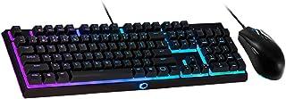 Kit Teclado e Mouse Gamer Cooler Master MS111, Teclado MK110 RGB Switches Mem-chanical Lineares 26-Key Anti-Ghosting Layou...