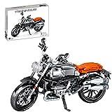 ColiCor Technic modelo de moto, 886 piezas kit de construcción para modelo de motocicleta, juegos de bloques de construcción compatibles con Lego Technic