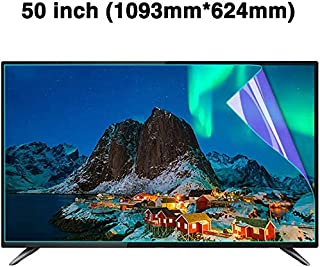 Ultra Clear 液晶テレビ画面保護パネル 50 インチ 目の保護 Prevents Eye Strain、LCD、LED、OLED、QLED 4K HDTVディスプレイ用,50 inch_1093x624mm