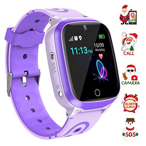 YENISEY Kids Smart Watch Waterproof for Boys Girls - WiFi+GPS Tracker Smartwatches -