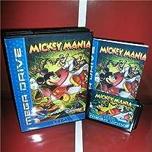 Mickey Mania EU Cover with Box and Manual For Sega Megadrive Genesis Video Game Console 16 bit MD card - Sega Genniess - Sega Ninento, 16 bit MD Game Card For Sega Mega Drive For Genesis