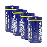 Varta–Batteria da 4Pack Industrial 4020alcaline Mono D/LR20/MN1300, 481386
