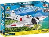 COBI SMALL ARMY WWII - 5515 - MITSUBISHI A6M2 ZERO
