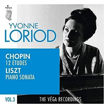 Chopin: 12 études, Op.25 | Liszt: Piano sonata in B minor, S.178