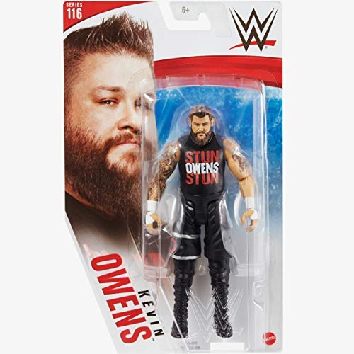 Collect WWE - Series 116 - Kevin Owens - Action Figure, bring home the action of the WWE - Approx 6'