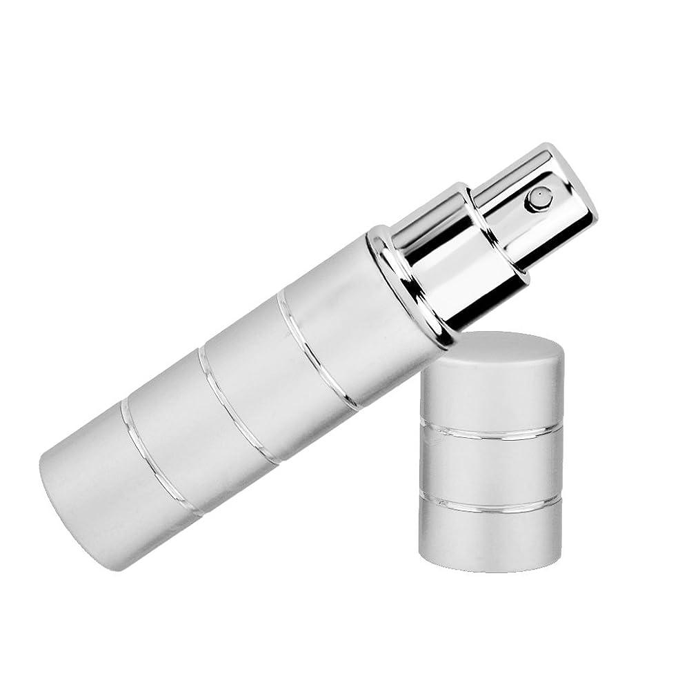 アルバニー短くするシーケンスKesoto 空ボトル アトマイザーボトル 軽量 ポンプ スプレー 詰替え 4色選べ - シルバー