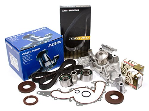 Evergreen TBK298MWPA Compatible With 98-07 Toyota Lexus 4.7 2UZFE Timing Belt Kit AISIN Water Pump