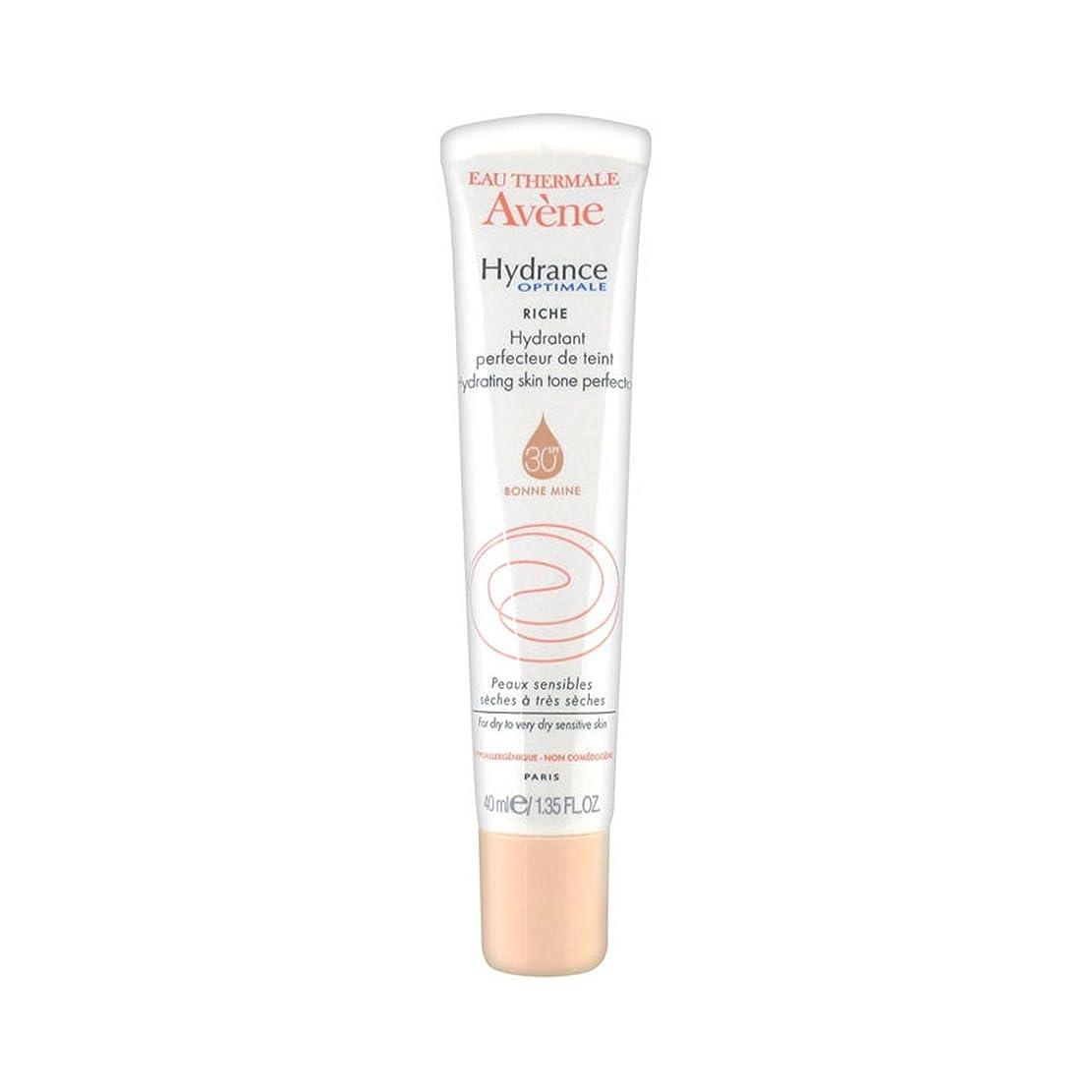 ひどく要旨フォークAvene Hydrance Optimale Rich Hydrating Skin Tone Perfector 40ml [並行輸入品]