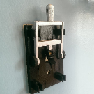 Light Switch Cover w/Flip Handle 3D Printed Light Switch