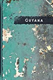 """Guyana Notebook: Gift for Guyana Citizens Travellers and Lovers, 100 Timeline Pages of High Quality, 6""""x9"""", Premium Matte Finish"""
