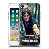 Head Case Designs Oficial AMC The Walking Dead Estar Al Acecho Daryl Dixon Carcasa de Gel de Silicon...