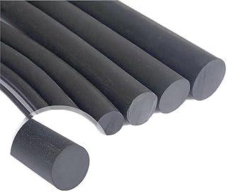 WHHHuan Diamètre de 1Meter 2-22mm Cylindre NBR NBRILE Caoutchouffe de Caoutchouc Noir Solide Round O-Bar Sceau Huile Résis...