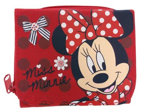 Minnie Mouse, Mad About Minnie DMINN004022, Kinder-Geldbörse Rot rot