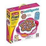 Quercetti 2101 - Mosaik-Steckspiel Pixel Mandala daisy
