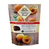 Sunny Fruit Organic Apricots, Soft and Succulent Dried Turkish Apricots