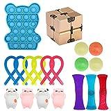 Set di Giocattoli Sensoriali Fidget Toys,Alleviare Lansia Antistress e Ansia Giocattolo di Terapia Sensoriale per Bambini e Adulti