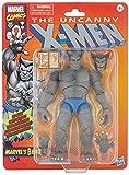 Marvel X-Men Legends Figura de Wolverine Vintage E96595L0, Color Gris