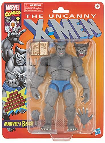 Hasbro E96595L0 Marvel Legends Series 15 cm große Marvel's Beast Action-Figur, Vintage Collection