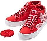 [アディダス] adidas ウィメンズ コートバンテージ W COURTVANTAGE レッド/ホワイト FU6821 アディダスジャパン正規品 23.0cm